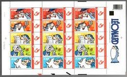 België/Belgique Duostamp 2010 Léonard Leonardo (Turk & De Groot) - Volledige Vellen