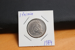 IVO 1 PATACA 1984 MACAU  PORTUGAL COIN - Macao