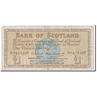 Billet, Scotland, 1 Pound, 1962, 1962-12-12, KM:102a, TB - [ 3] Scotland