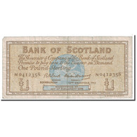 Billet, Scotland, 1 Pound, 1962, 1962-12-12, KM:102a, TB - Ecosse
