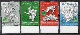 SAINT MARIN   - Timbres Neufs ** De  2005 ( Ref 5500 )   Sport - Alpinisme - Saint-Marin