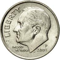 Monnaie, États-Unis, Roosevelt Dime, Dime, 2003, U.S. Mint, Philadelphie, SUP - Bondsuitgaven