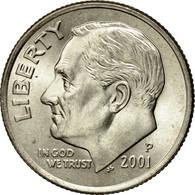 Monnaie, États-Unis, Roosevelt Dime, Dime, 2001, U.S. Mint, Philadelphie, SUP+ - Bondsuitgaven