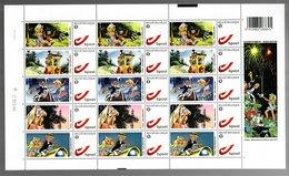 België/Belgique Duostamp 2011 Olivier Rameau Rozebottel (Dany) - Volledige Vellen