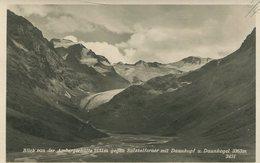 004832  Blick Von Der Ambergerhütte Gegen Sulztalferner Mit Daunkopf U. Daunkogel  1950 - Austria