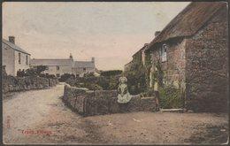 Treen Village, St Levan, Cornwall, 1908 - Stengel Postcard - England