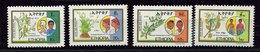 Ethiopie **  N° 1127 à 1130 -  Herbes Médicinales - Ethiopië