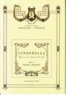 PALERMO,TEATRO MASSIMO,POLITEAMA GARIBALDI:CINDERELLA 1978-1979. - Musica & Strumenti