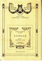 PALERMO,TEATRO MASSIMO,POLITEAMA GARIBALDI:GISELLE 1978-1979. - Musica & Strumenti