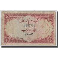 Billet, Pakistan, 1 Rupee, KM:10a, B+ - Pakistan