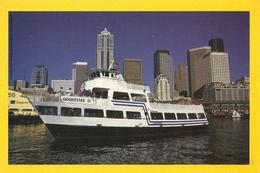 "CP Etats-Unis WA - Seattle, Le Port, Bateau ""The GOODTIME III"" - Seattle"