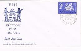 29472. Carta F.D.C. SUVA (Fiji) 1963. Freedom From Hunger - Fiji (1970-...)
