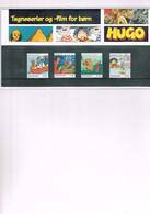 HUGO - PETZI  (RASMUS KLUMP): 4 Timbres Neufs Dans Emballage B.D. Danoise. - Comics