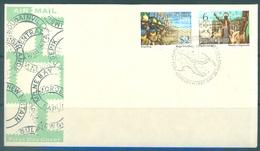 PAPUA NEW GUINEA -  FDC  - 7.8.1974 - Yv 272-273 -  Lot 17711 - Papouasie-Nouvelle-Guinée