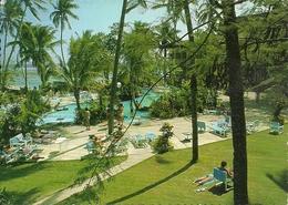Coral Coast (Fiji, Oceania) The Hyatt Regency Hotel, The Swimming-pool, La Piscina - Figi
