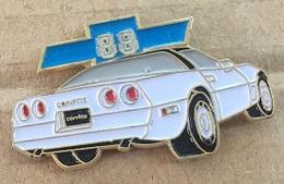 VOITURE - CHEVROLET CORVETTE 1988 - BLANCHE - WHITE  -    (20) - Corvette