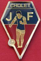 EE  175.. )......ECUSSON.......CHOLET     J F...........JEUNE FRANCE CHOLET - Section Football - Football