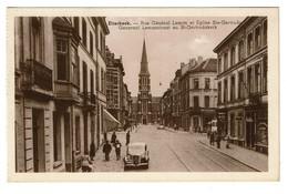 Etterbeek - Rue Général Leman Et Eglise Ste-Gertrude - Edit. P.I.B. - 2 Scans - Etterbeek
