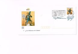 FESTIVAL B.D. REDON 1997 : 1er Jour D'émission De La Flamme Et Dédicaces. - Comics