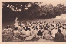 SCOUTISME. CAMP DE CHEFTAINES. PALABRE MATINALE - Scoutisme