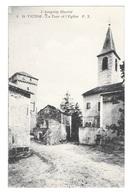 (20710-12) Saint Victor - La Tour Et L'Eglise - Saint Victor