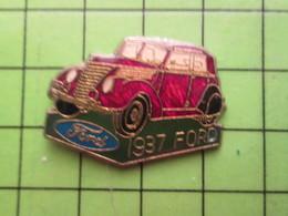 718c Pin's Pins / Rare Et De Belle Qualité / THEME AUTOMOBILE / FORD DE 1937 - Ford