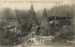 1 Cpa Guerre 14/18 - Forêt De L'Argonne - Non Classés