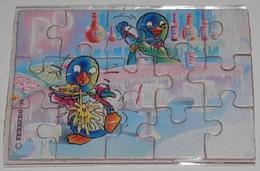 PUZZLE  KINDER SUPRISE - SERIE  PEPPY PINGO PARTY - Puzzles