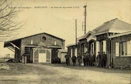 RIBECOURT (60.Oise) La Gare En Réparation / A 212 - Ribecourt Dreslincourt