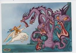 Hercule Et Le Dragon Géant -  Walt Disney (cp Vierge) - Disney