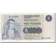 Billet, Scotland, 5 Pounds, 1980, 1980-02-01, KM:205c, TB - Schotland