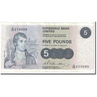 Billet, Scotland, 5 Pounds, 1975, 1975-01-06, KM:205c, TTB - Scozia