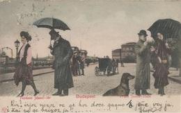 HUNGARY BUDAPEST, PC, Circulated 1898 - Ungarn