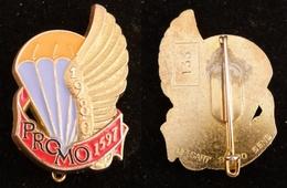 INSIGNE PROMOTION PARACHUTISTE 1597 ETAP 1980 NUMEROTE 133 - Landmacht