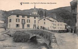 CPA ALDUDES - Le Pont Et Le Bureau Des Douanes - Aldudes