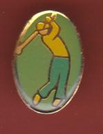 53349- Pin's.golf.signé Fitech Industries.. - Golf