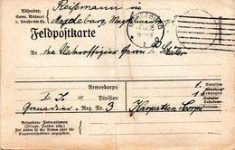 Original Feldpost-Karte (Vordruck), Gelaufen 17.12.16 Magdeburg - Guerre 1914-18