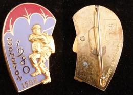 INSIGNE PROMOTION PARACHUTISTE 1588  ETAP 1980 NUMEROTE 138 - Landmacht