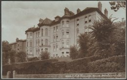 C.H.A. Torridge House, Westward-Ho, Devon, 1942 - Sweetman RP Postcard - England