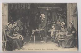 La Grande Veillée - Travail Au Rouet - Anciennes Coutumes De Bresse - Animée - Non Classés