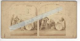 BLANCHISSEUSES ? Circa 1855 PHOTO STEREO /FREE SHIPPING REGISTERED - Fotos Estereoscópicas