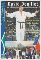 David DOUILLET - (Judo) - Fiche Descriptive éditée Par Le Conseil Général De Seine-Maritime - Sports