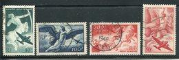 Framce  SC# C18-C21   Used  Complete Set - Airmail