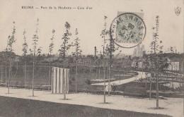 Reims 51 - Parc De La Haubette - Cure D'Air - 1906 Cachets Postaux St Valéry Sur Somme - Reims