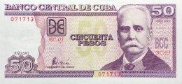 Cuba 50 Pesos, P-119 (2001) - UNC - Kuba