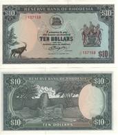 RHODESIA  10 Dollars   P41   Dated  2.1.1979   UNC - Rhodésie