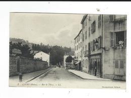 69 Cours Rue De Thizy 3 LL Ed Thomasboujot Circulé - Cours-la-Ville