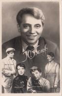 RUSSISCHER SCHAUSPIELER - Fotokarte 1959? - Schauspieler