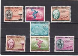 Haiti Nº 447 Al 450 Y A203 Al A205 - Haití