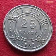 Belize 25 Cents 1989 KM# 36 Beliz Belice - Belize